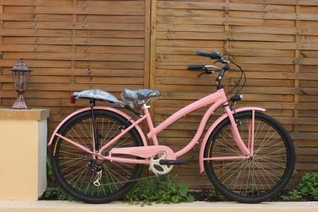 Bicicleta de dama cruiser Vicini Donna