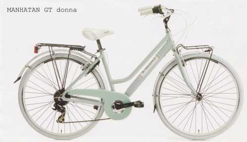 Bicicleta de oras Vicini Manhattan Donna GT