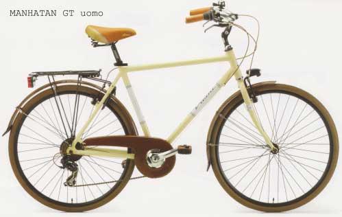 Bicicleta de oras Vicini Manhattan Uomo GT