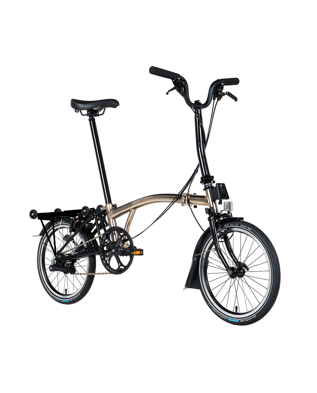 Bicicleta pliabila Brompton H2R/Ni/Bk Nickel Edition 2018