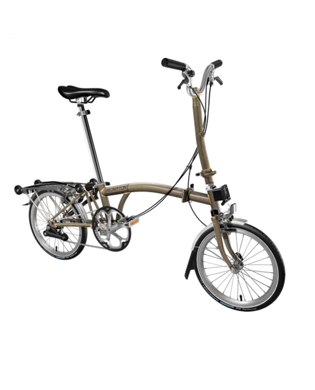 Bicicleta pliabila Brompton H6R/RL/RL