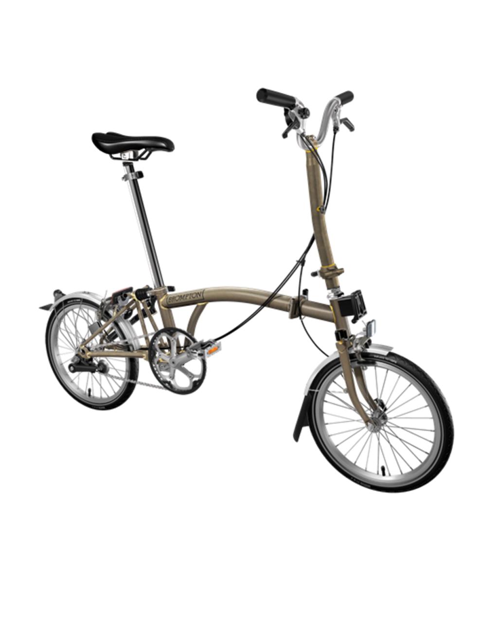Bicicleta pliabila Brompton H2L/RL/RL