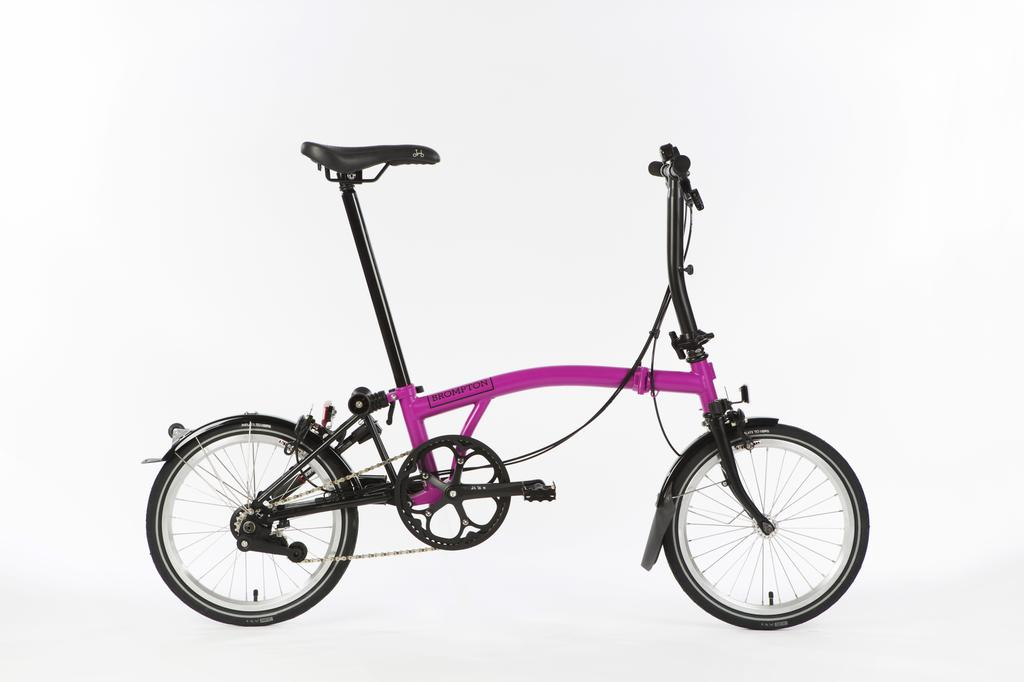 Bicicleta pliabila Brompton New Black Edition H6L/BC/BK