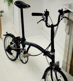 Bicicleta pliabila Brompton New Black Edition H6L/BK/BK