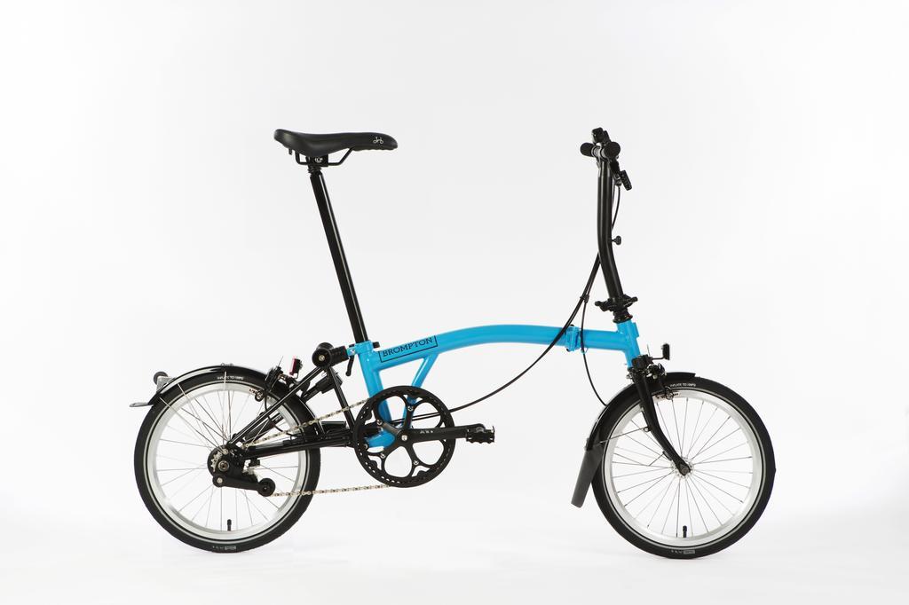 Bicicleta pliabila Brompton New Black Edition H6L/LB/BK