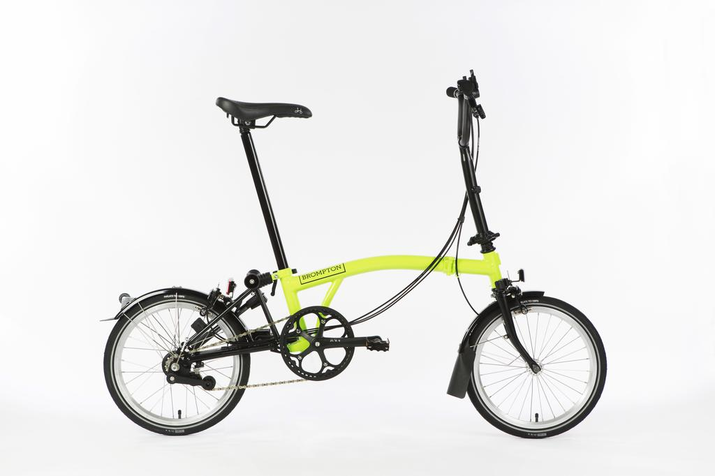 Bicicleta pliabila Brompton New Black Edition H6L/LG/BK