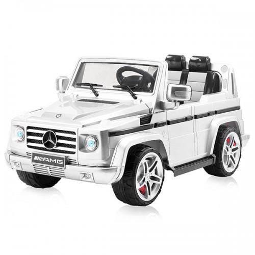 Masinuta electrica Chipolino Mercedes Benz G55 - Alb