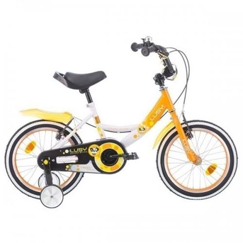 Bicicleta pentru copii Chipolino Lusy 16 - alb-roz