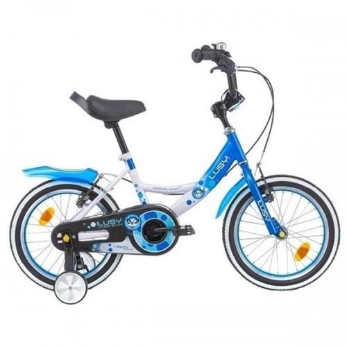 Bicicleta pentru copii Chipolino Lusy 16 - alb-albastru
