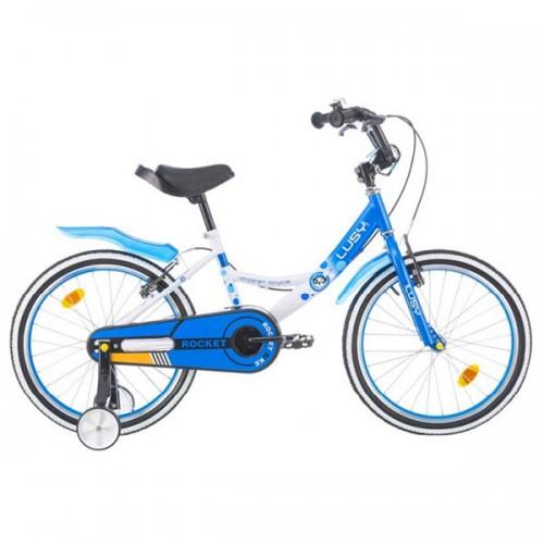 Bicicleta pentru copii Chipolino Lusy 20 - alb-albastru