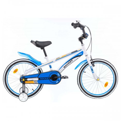 Bicicleta pentru copii Chipolino Rocket 20 - alb-albastru