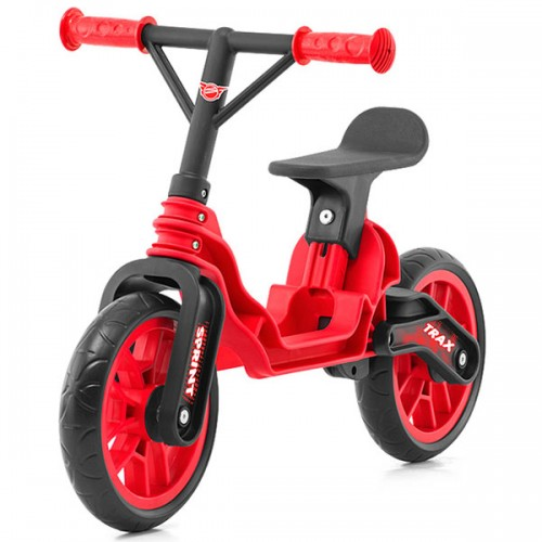 Bicicleta fara pedale Chipolino Trax - rosu