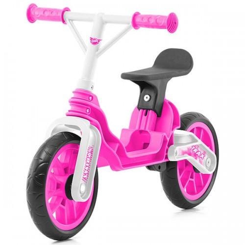 Bicicleta fara pedale Chipolino Trax - roz