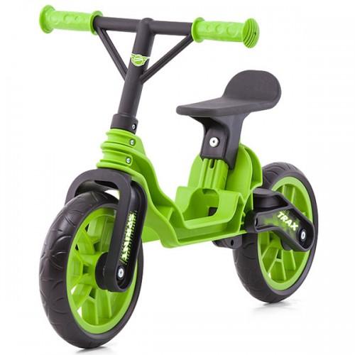 Bicicleta fara pedale Chipolino Trax - verde