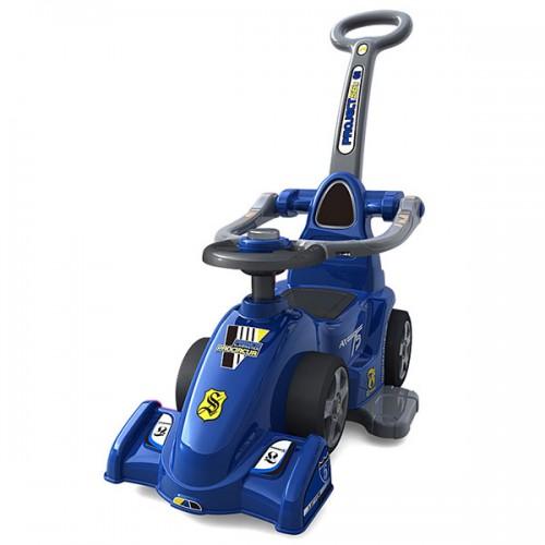 Masinuta de impins Chipolino Formula cu maner - blue