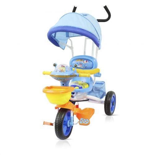 Tricicleta Chipolino Friends cu copertina blue 2013