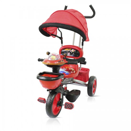 Tricicleta Chipolino Friends cu copertina red 2013