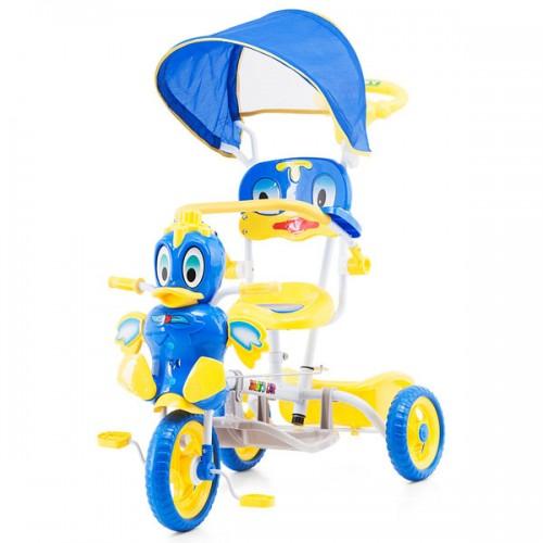 Tricicleta cu copertina Chipolino Duck blue