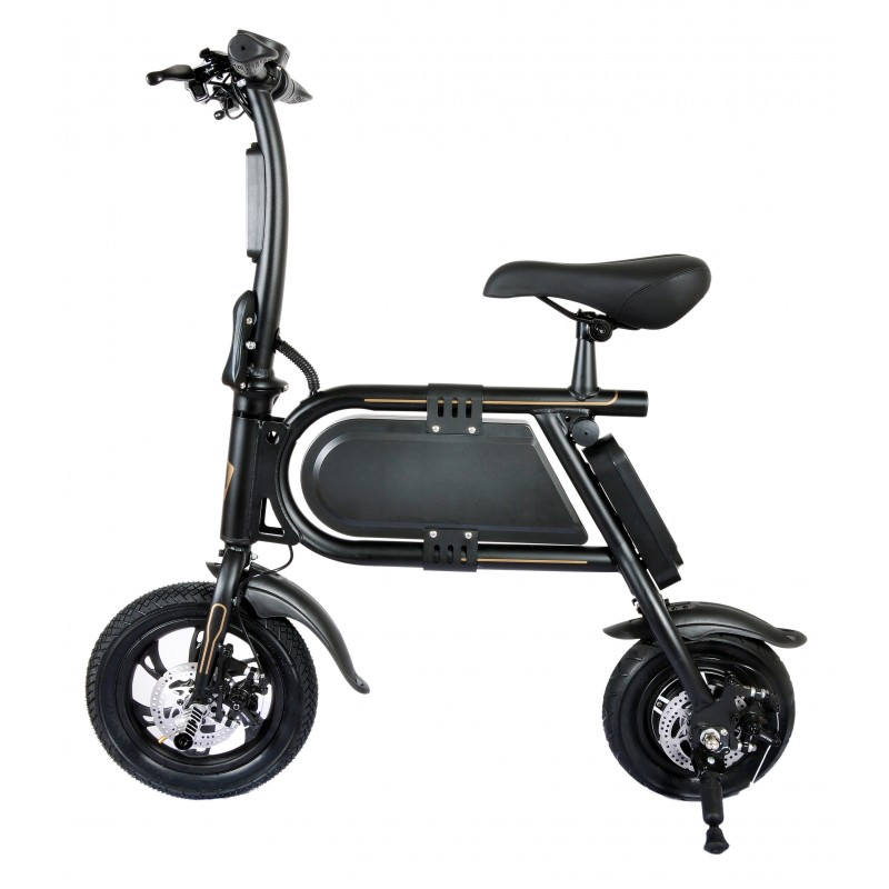 Bicicleta pliabila electrica B10 - negru