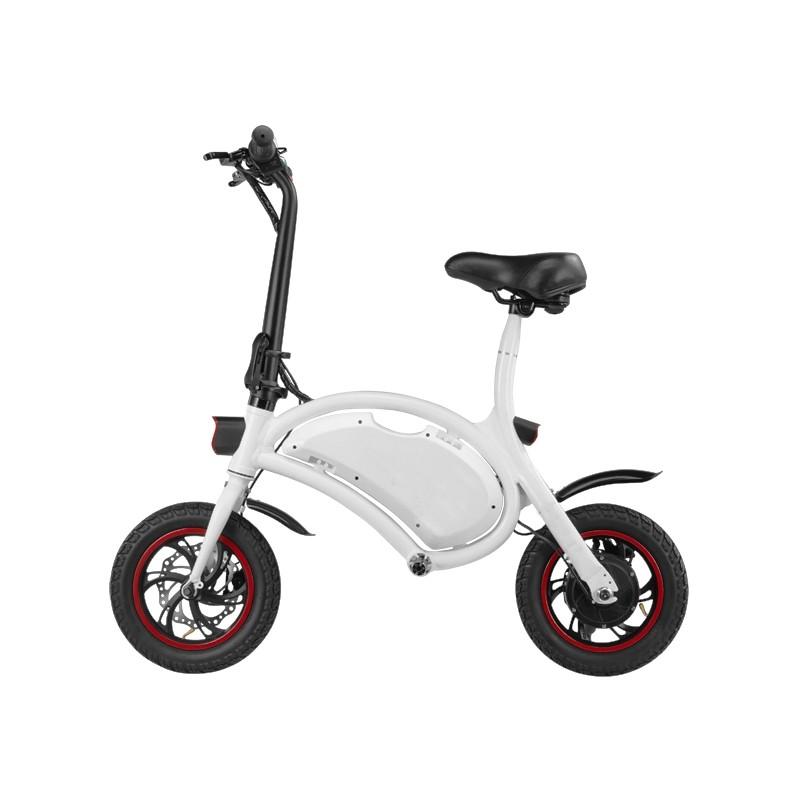 Bicicleta pliabila electrica DYU D1 - alb