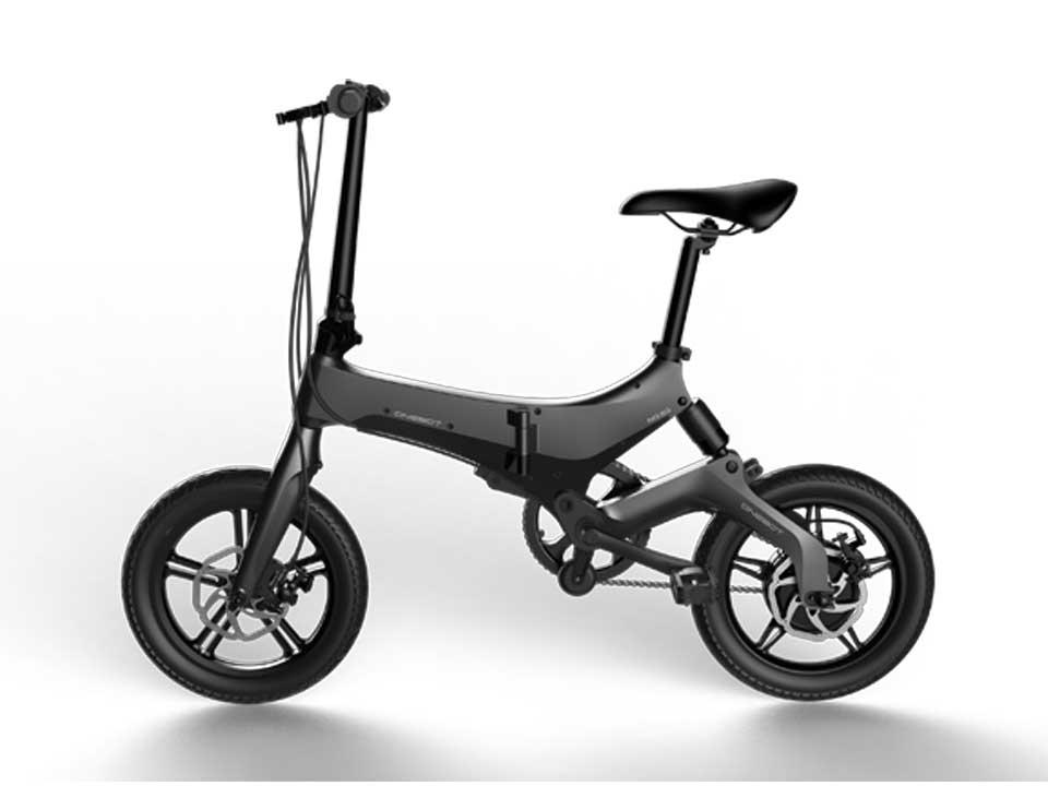 Bicicleta pliabila electrica Onebot S6 - negru