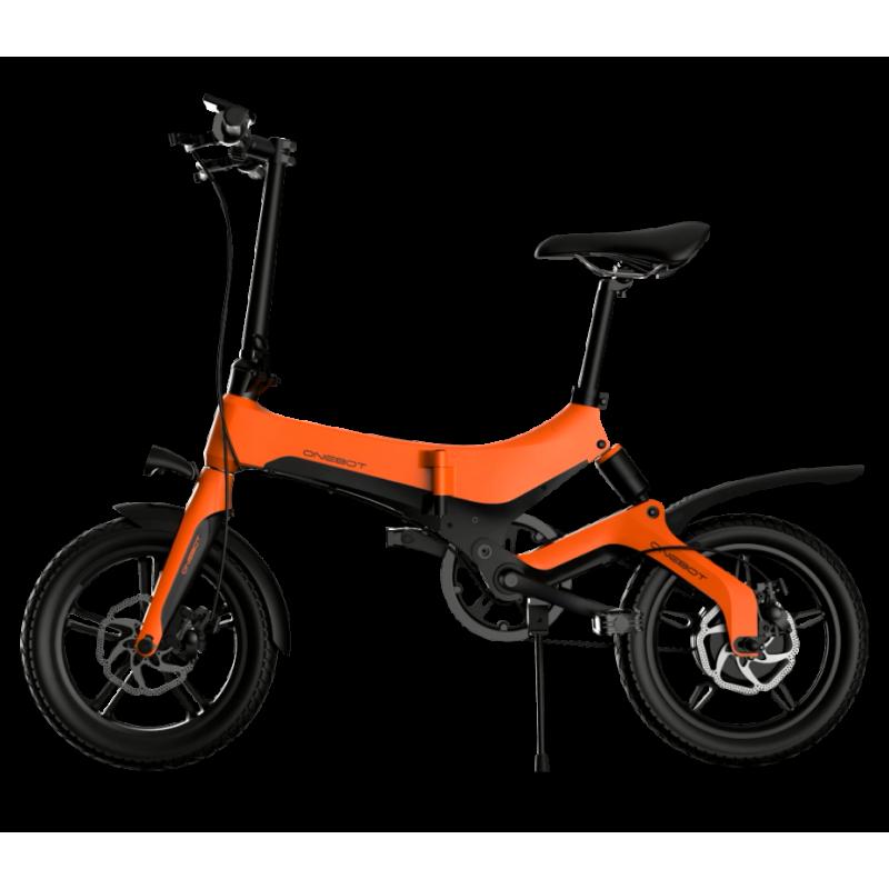 Bicicleta pliabila electrica Onebot S6 - portocaliu