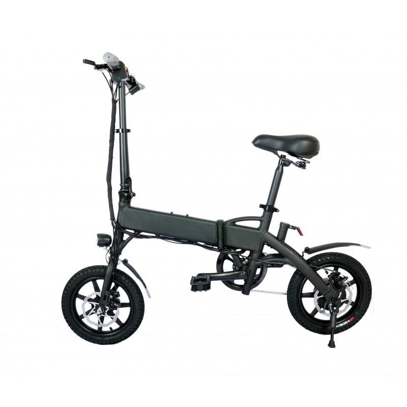 Bicicleta pliabila electrica B18 - negru