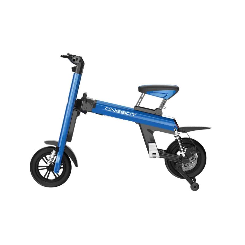 Bicicleta pliabila electrica Onebot T8 - albastru