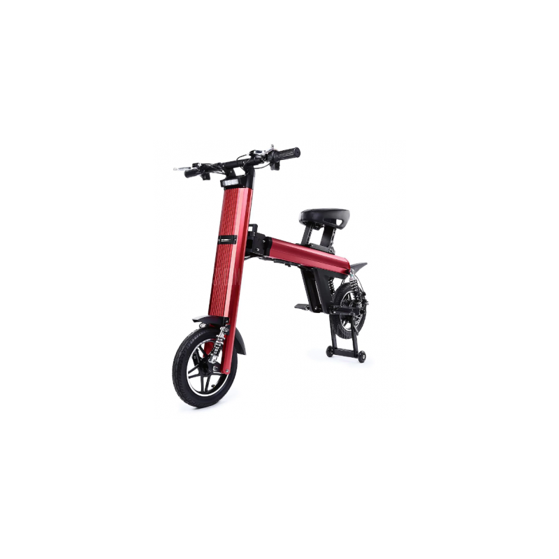 Bicicleta pliabila electrica Onebot T8 - rosu