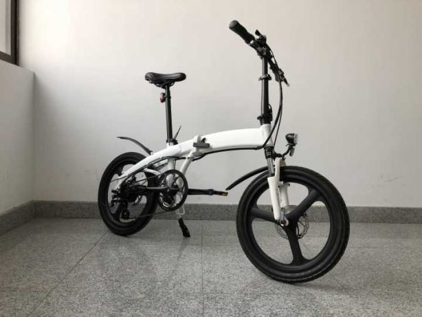 Bicicleta pliabila electrica SD1 - alb