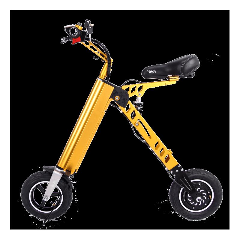 Bicicleta pliabila electrica Robstep X7 - galben
