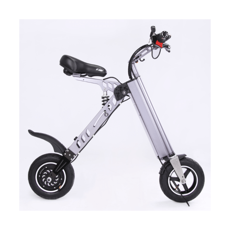 Bicicleta pliabila electrica Robstep X7 - gri
