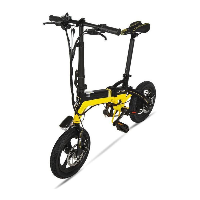 Bicicleta pliabila electrica Onebot S1 - negru-galben