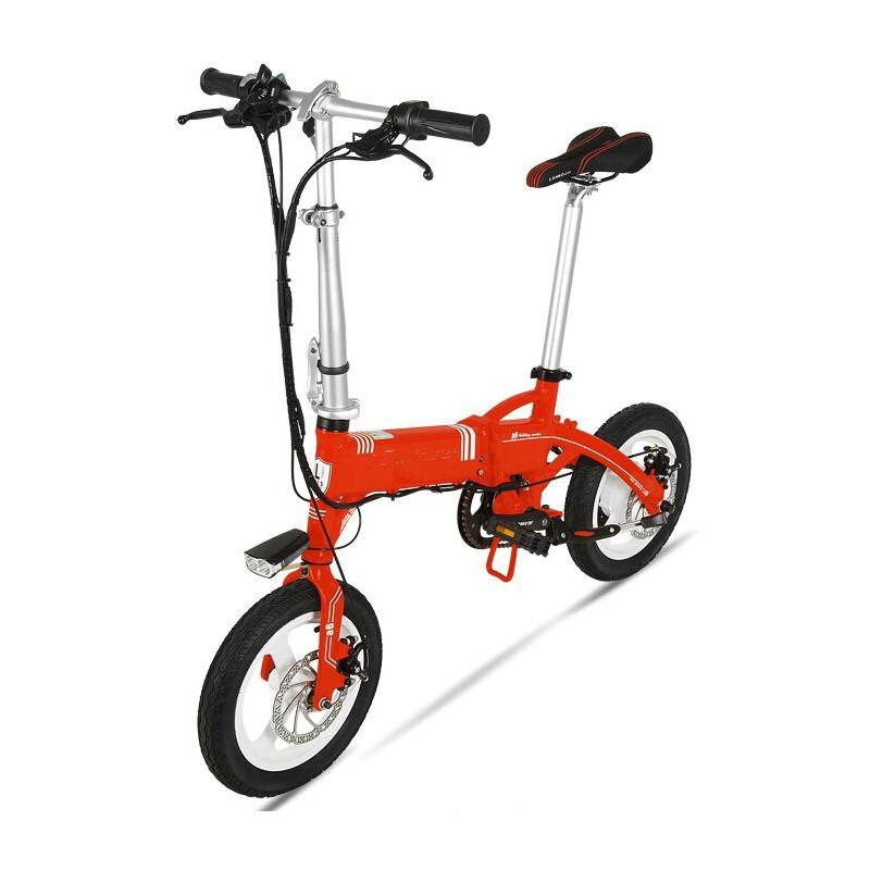 Bicicleta pliabila electrica Onebot S1 - rosu
