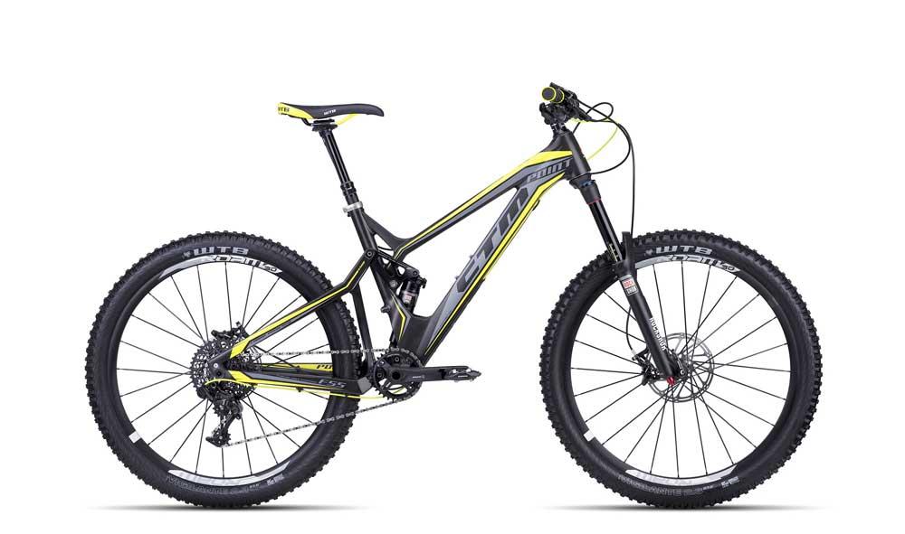 Bicicleta MTB Full Suspension CTM Point