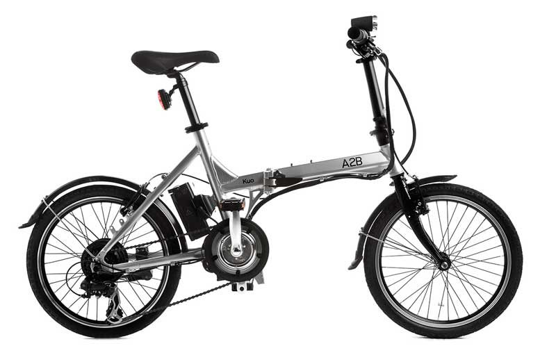 Bicicleta electrica pliabila Emotion A2B Kuo