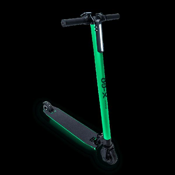 Trotineta Electrica Pliabila Evolio X-GO – verde metalizat