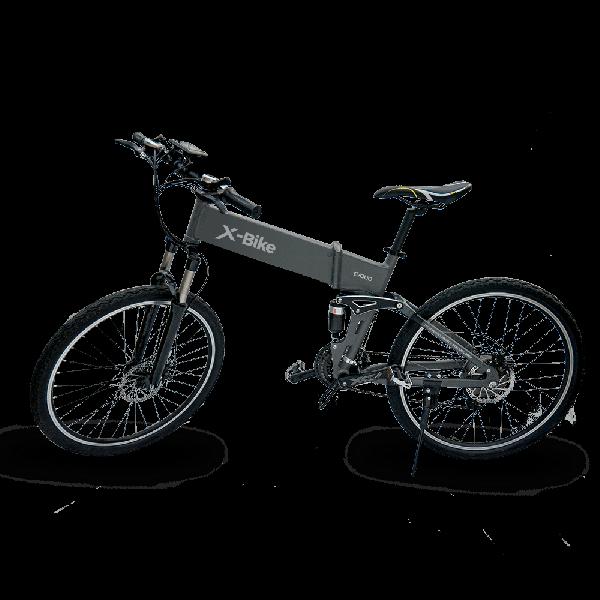 Bicicleta Electrica Pliabila MTB Evolio X-Bike - negru