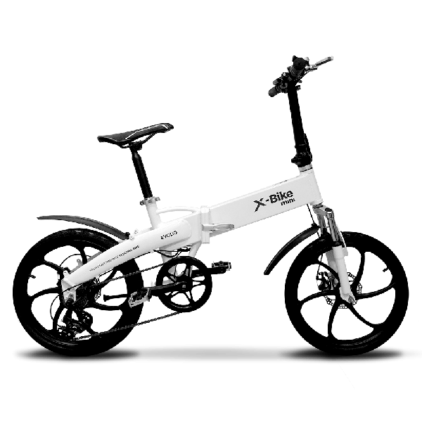 Bicicleta Electrica Pliabila Evolio X-Bike Mini - alb