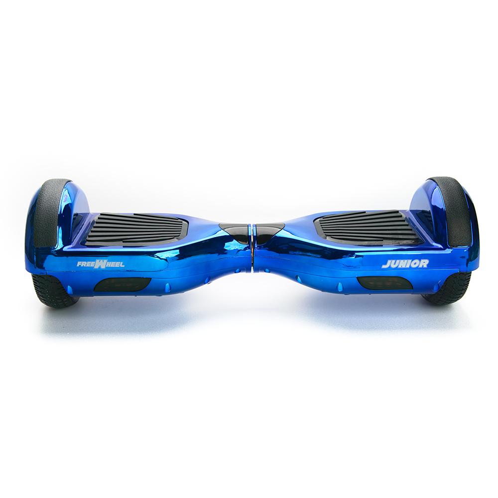 Scooter electric FreeWheel Junior - albastru metalic