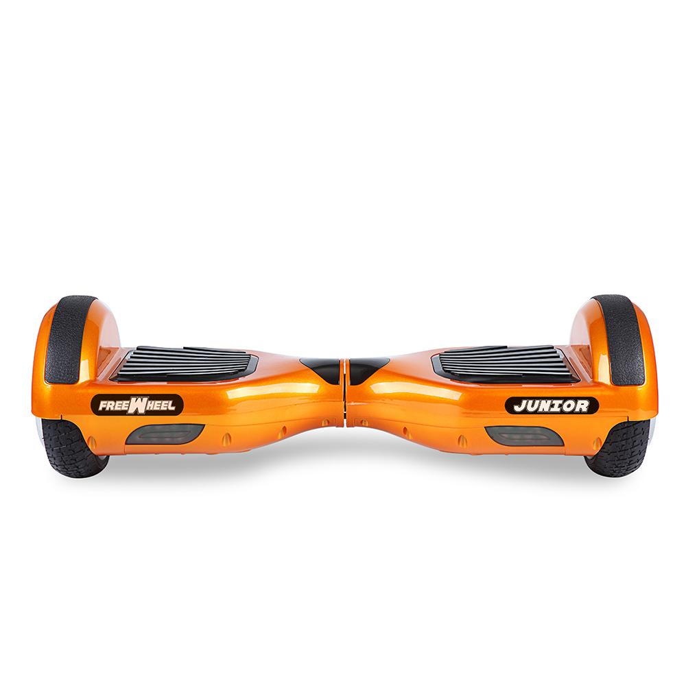 Scooter electric FreeWheel Junior - portocaliu