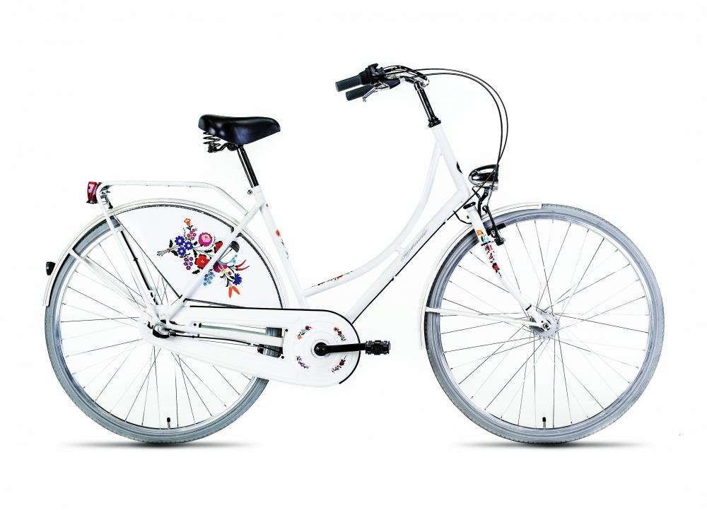 Bicicleta de oras Gepida Amsterdam - alb