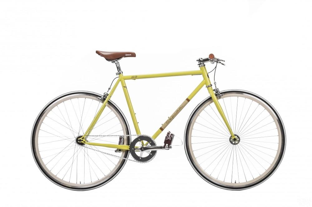 Bicicleta retro Gepida S3 - galben