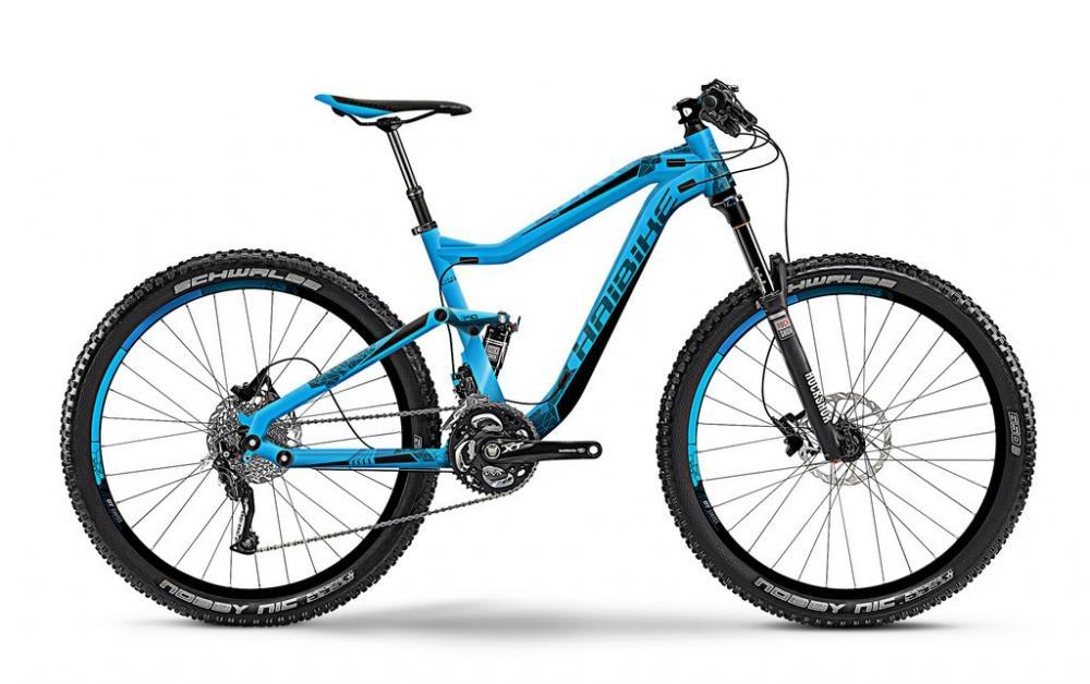 Bicicleta MTB Full Suspension Haibike Q.AM 7.10