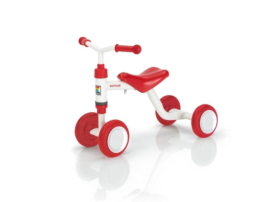 Tricicleta fara pedale Kettler Smoovy - rosu