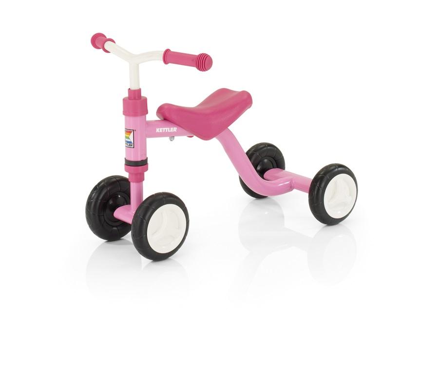 Tricicleta fara pedale Kettler Smoovy - roz