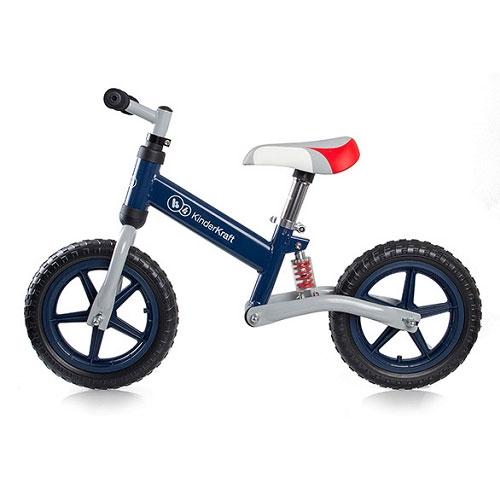 Bicicleta fara pedale Kinderkraft EVO Navy