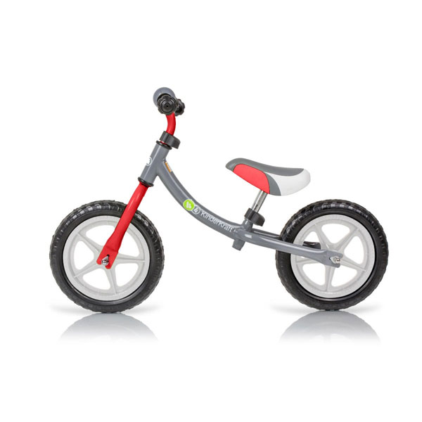 Bicicleta din lemn fara pedale Kinderkraft 2Way