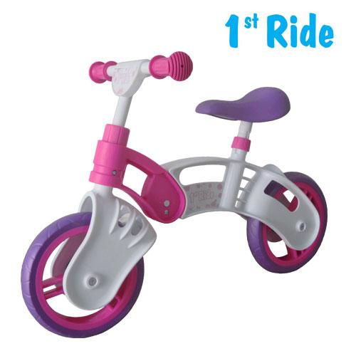 Bicicleta fara pedale Kinderkraft 1 St Ride - roz