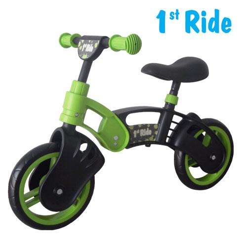 Bicicleta fara pedale Kinderkraft 1 St Ride - verde